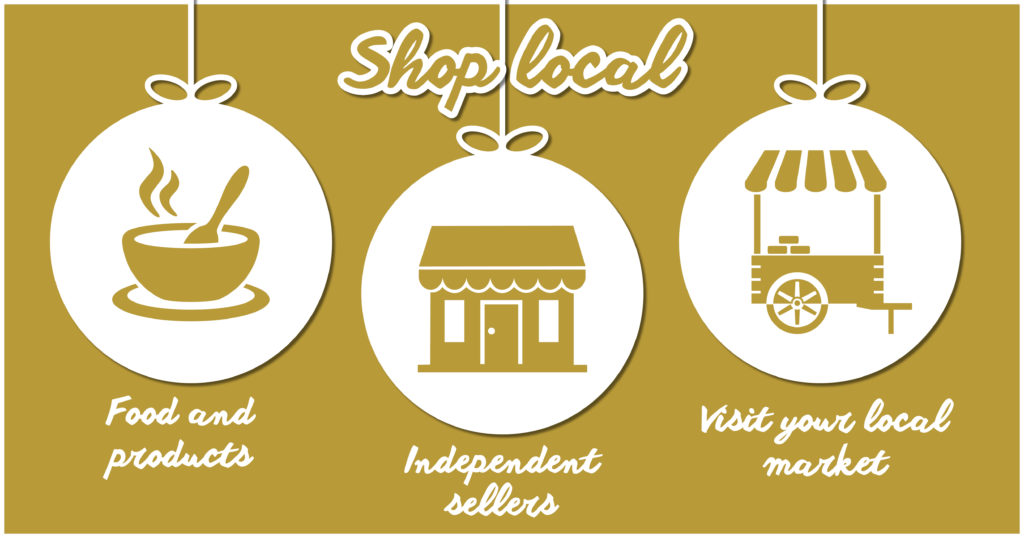 Environmentally Friendly Christmas - Shop local