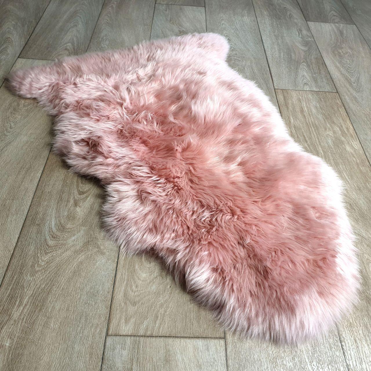 Rosa Pink Sheepskin Rug Jacobs Dalton