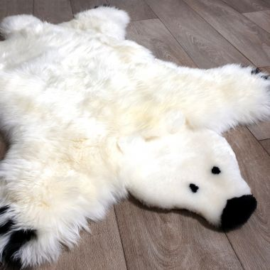 Polar Bear Play Rug