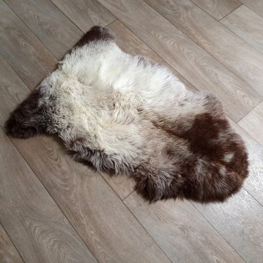 Natural Grey/Brown Sheepskin Rug