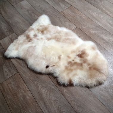 Natural Speckled Sheepskin Rug
