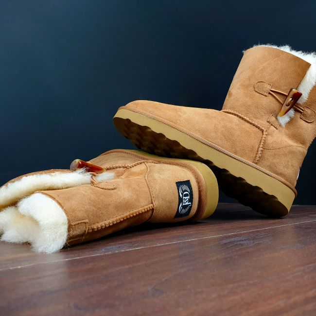 Image of Chestnut Classic Sheepskin Boots
