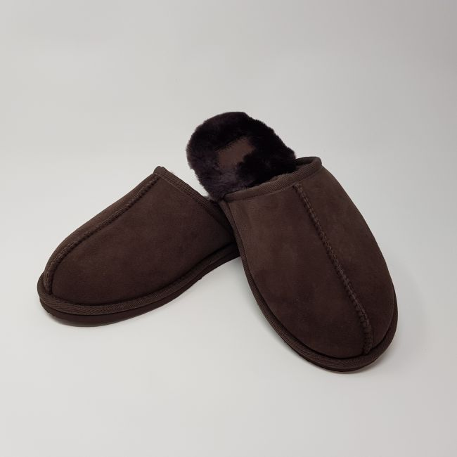 Image of Unisex Chocolate Mule Slippers