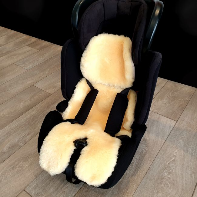 Image of Luxury Sheepskin Car Seat Cosy Liner