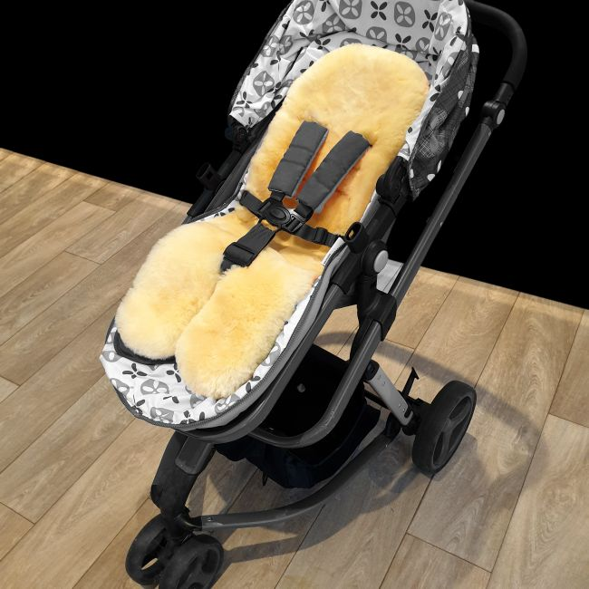 Image of Luxury Sheepskin Pram Cosy Liner