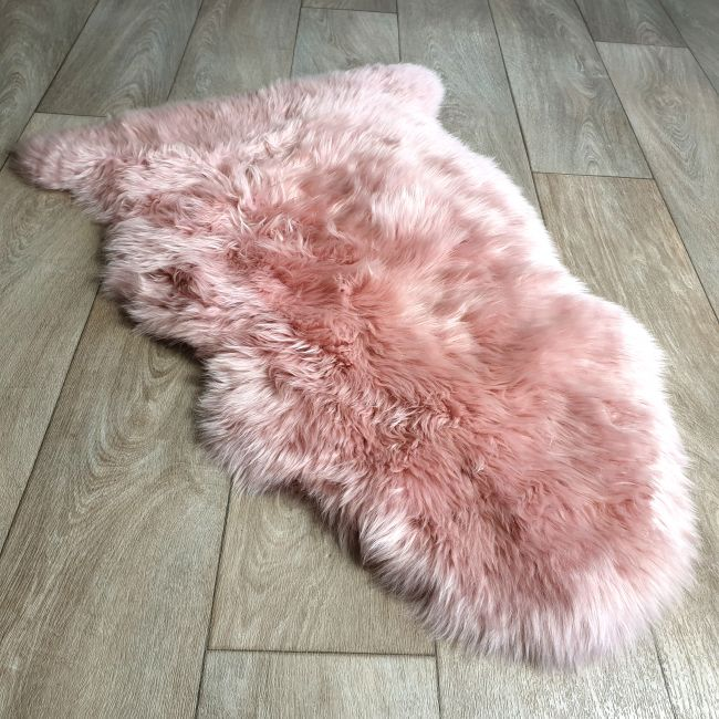 Image of Rosa Pink Sheepskin Rug