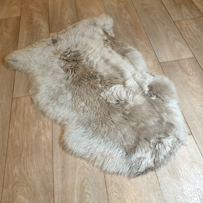 Image of Taupe Sheepskin Rug